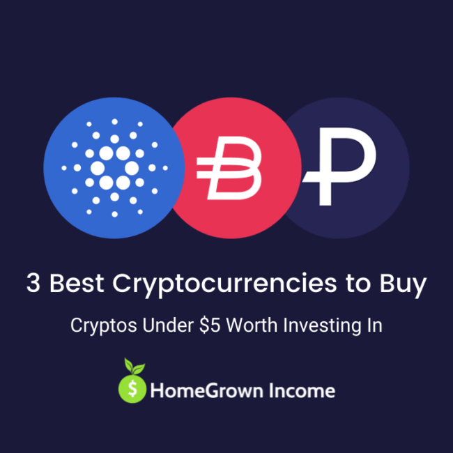 3 best cryptocurrencies under $5 to buy and invest in. -min