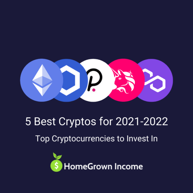 5 Best Cryptocurrencies to Invest in for 2021 and 2022